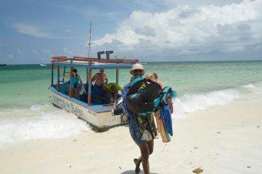 Back ashore