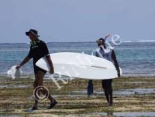 onze houvast tijdens snorkelen