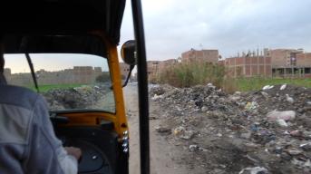 tuktuk strange route !