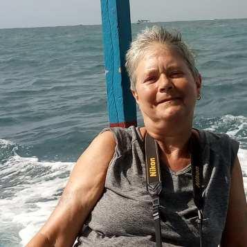 marcella at Ibrahi's boat Watamu