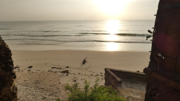early morning on the beach